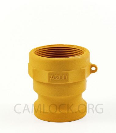 Type A Nylon Camlock - Coupling Male Adapter x Female BSP Thread