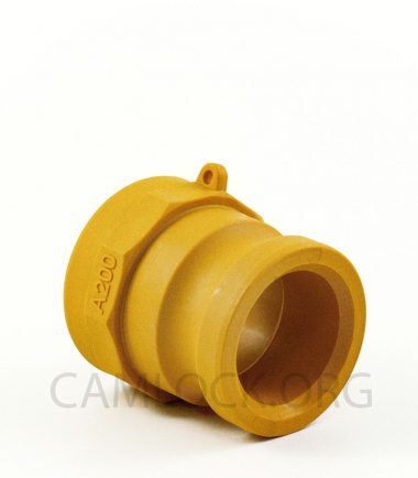 Type A Nylon Camlock Fitting - Male Coupler x Female BSP Thread