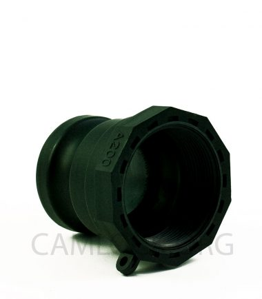 Type A Polypropylene Camlock Coupler - Male Coupler x Female BSP Thread
