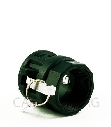 Type D Polypropylene Camlock Coupler - Female Coupler × Female BSP Thread