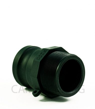 Type F Polypropylene Camlock Coupler - Male Coupler x Male BSP Thread