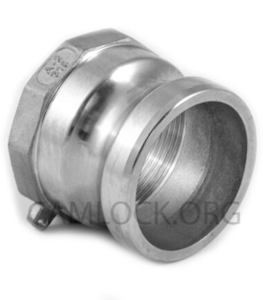 Camlock SS316 type A 50mm D200SS