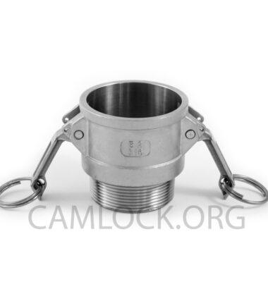 Camlock SS316 type B 50mm D200SS