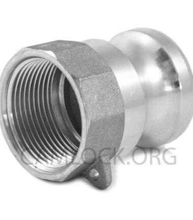 Camlock Aluminium type A 50mm D200AL