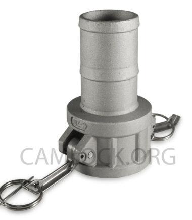 Camlock Aluminium type C 50mm D200AL