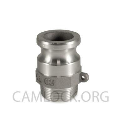 Camlock Aluminium type F 38mm D150AL