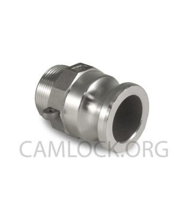 Алюминиевый камлок соединитель тип F 38mm D150AL