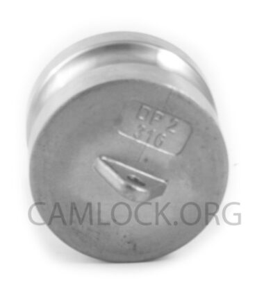 Camlock SS316 type DP 50mm D200SS